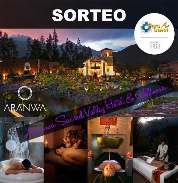 SORTEO ARANWA peruatravel blog