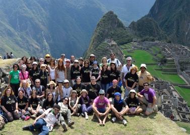 Grupo Peruatravel Machu Picchu