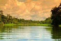 Dawn at the Amazon peruatravel
